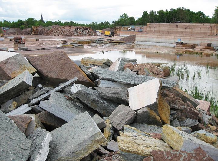 The limestone quarry in Sweden where the one-of-a-kind 470-million-year-old meteorite was discovered.