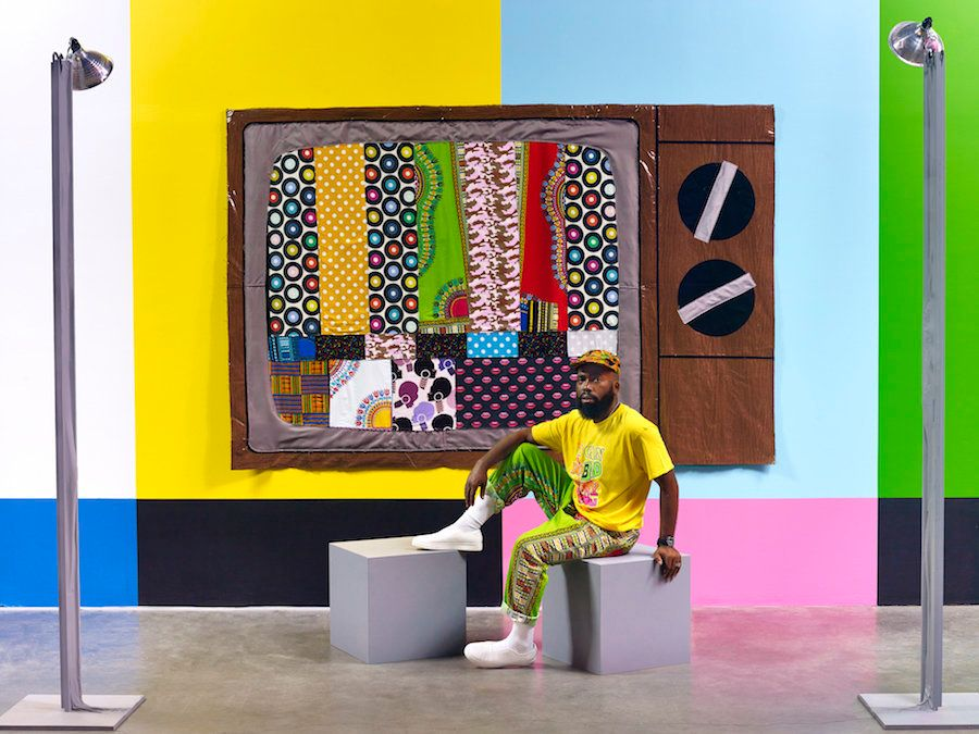 Artist Explores The Vibrant, Complex History Of Blackness On