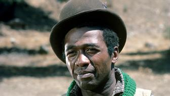 UNITED STATES - JANUARY 23:  ROOTS - Sunday, Jan. 23-Sunday. Jan. 30, 1977, The 12-hour ABC Novel for Television 'Roots', which aired for eight consecutive nights, remains one of TV's landmark programs. Based on Alex Haley's best-selling novel, 'Roots' followed 100 tumultuous years and several generations of the author's African ancestors, from the arrival of Kunta Kinte, the West African youth kidnapped into slavery and shipped to America, through emancipation after the Civil War., Pictured: Ben Vereen (as Chicken George),  (Photo by ABC Photo Archives/ABC via Getty Images)