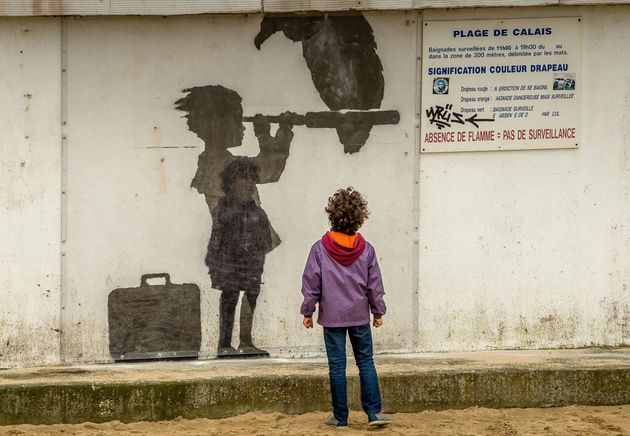 Unicef said there are at least 157 children in Calais with the legal right to be with their family in...