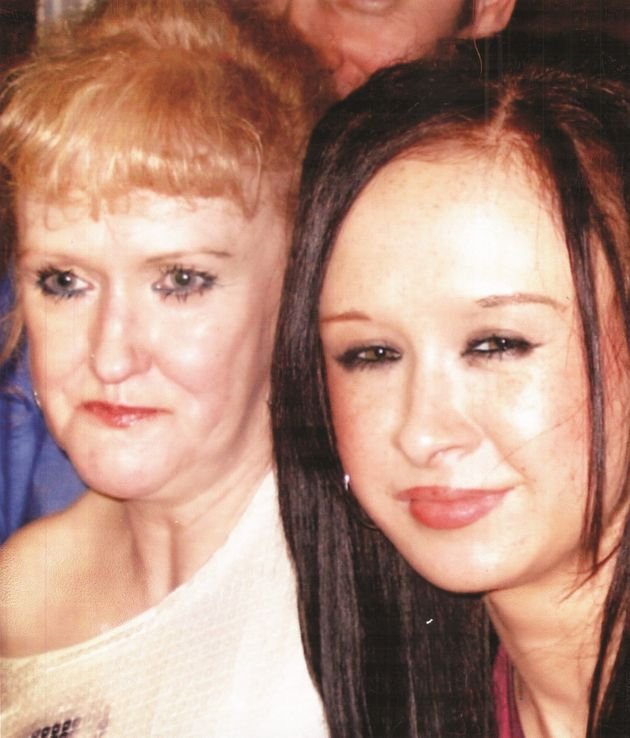 Karen, left, and Jade Hales were found dead in their Anfield home on