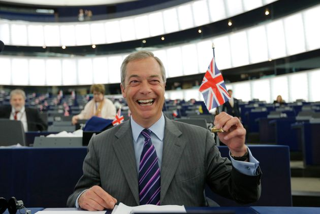 Nigel Farage, leader of the United Kingdom Independence Party (UKIP) and Member of the European Parliament...