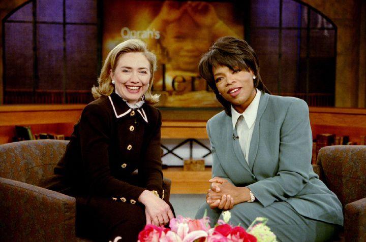 Clinton and Oprahin 1996.