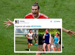 Football Hooligans Could Learn A Thing Or Two From The Friendly England Wales Chatter On Twitter