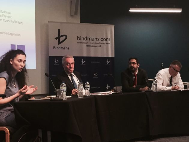 Bouattia appeared on a panel alongside terror experts, campaigners and a chief