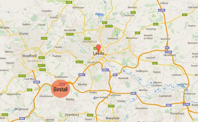 Jo Cox was shot in the town of Birstall, eight miles from Leeds in West