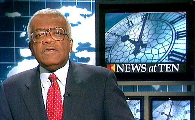 Sir Trevor presented the news for more than three