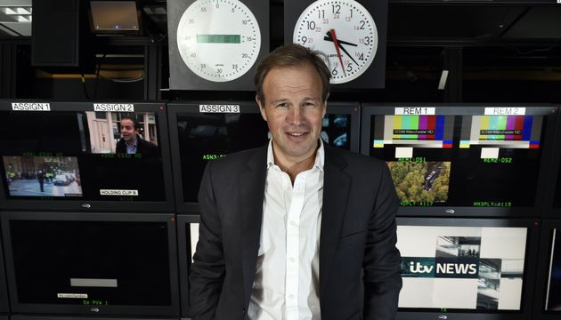 Current anchor Tom Bradby has adopted a more informal, chatty