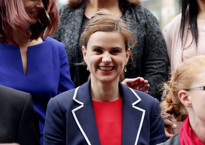 Jo Cox is a lawmaker for the opposition Labour Party.