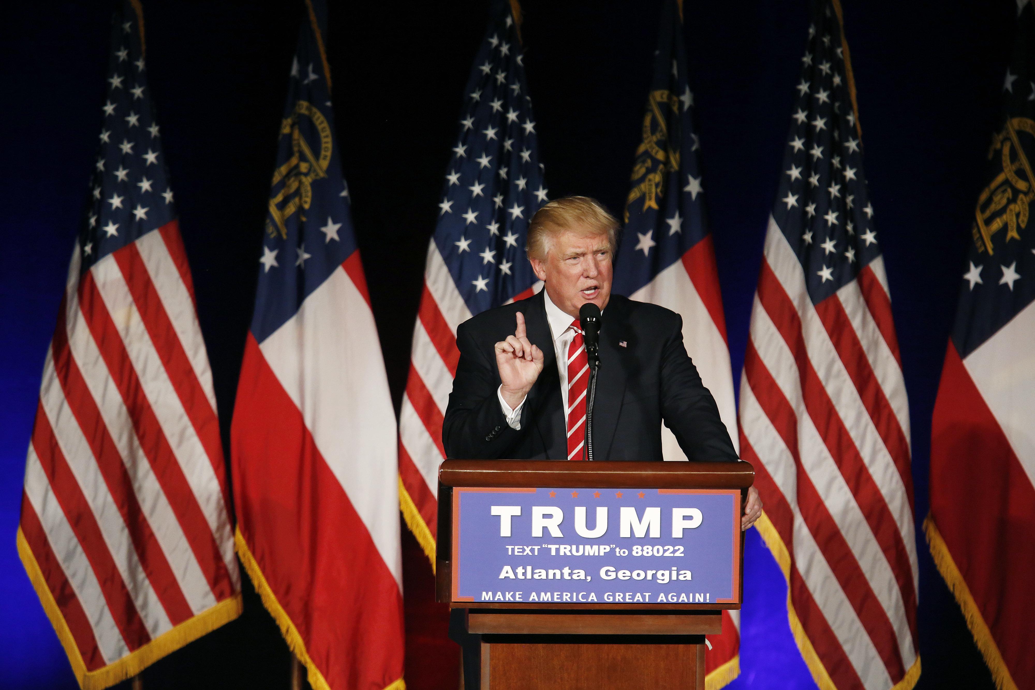 "Trump ""won't be MY president,"" Rob Watson writes."