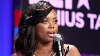 LOS ANGELES, CA - JUNE 28:  Jemele Hill speaks onstage during the Genius Talks presented by RushCard at the 2014 BET Experience at L.A. LIVE on June 28, 2014 in Los Angeles, California.  (Photo by Jonathan Leibson/BET/Getty Images for BET)