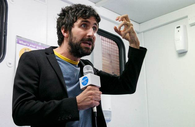 Mark Watson has suffered from depression and spoke about it in his 2014 show