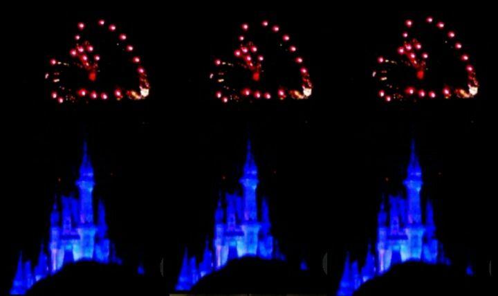 Walt Disney World Wishes Fireworks