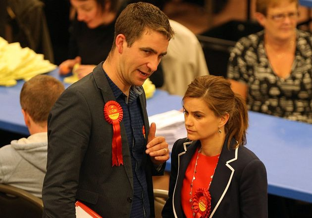 Jo Cox with her husband