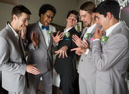 Here's What The Groomsmen Do While The Bridesmaids Are Getting Ready