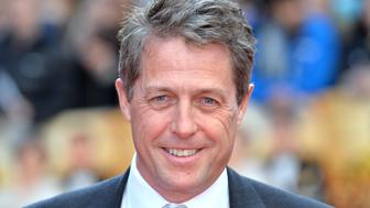 LONDON, ENGLAND - APRIL 12:  Hugh Grant attends the World film premiere of 'Florence Foster Jenkins' at Odeon Leicester Square on April 12, 2016 in London, England.  (Photo by Anthony Harvey/Getty Images)