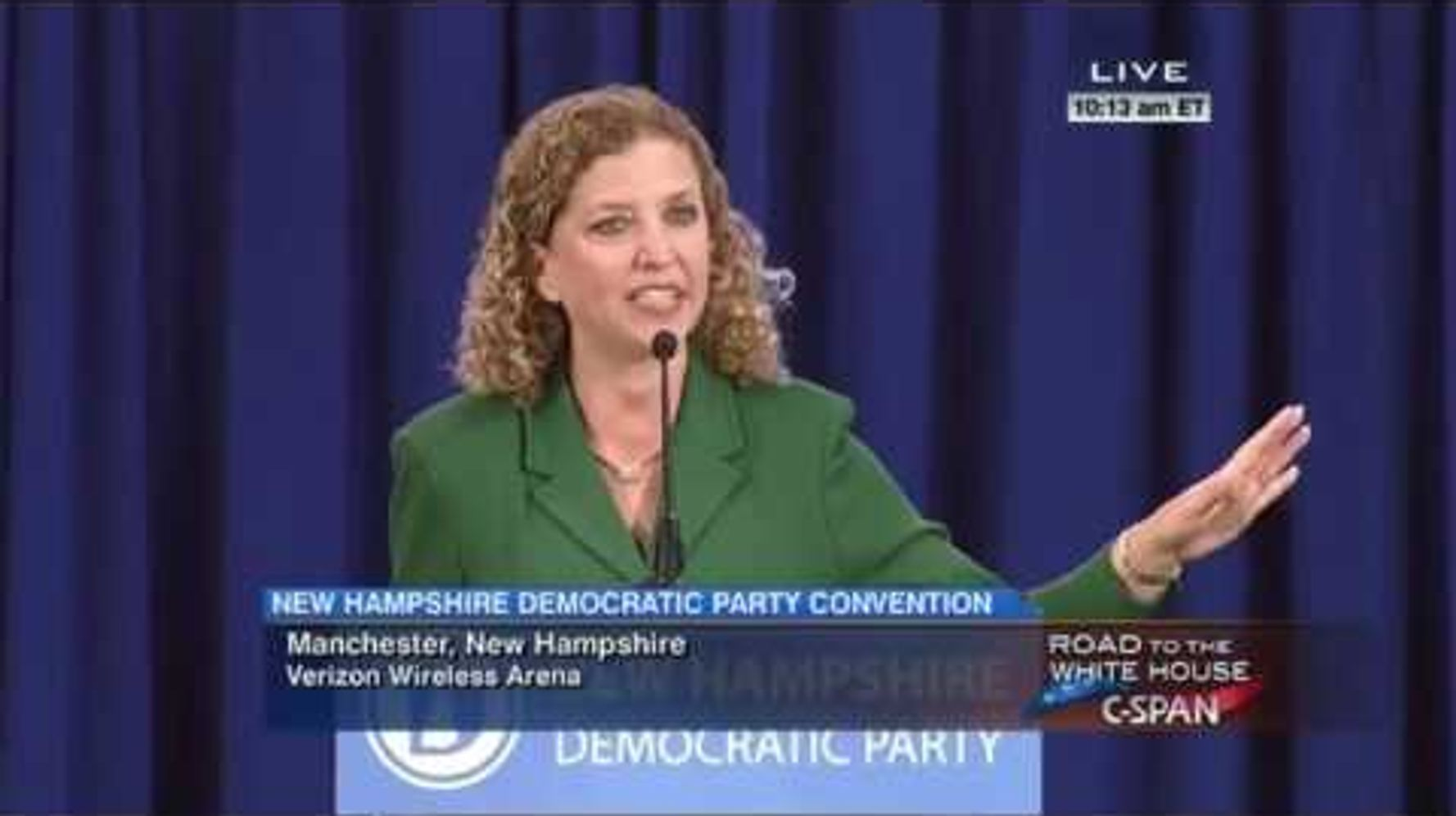 Democrats Edge Out Debbie Wasserman Schultz With Clinton's Pick To Run DNC
