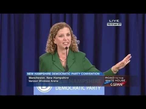 DNC Chairwoman Debbie Wasserman-Schultz