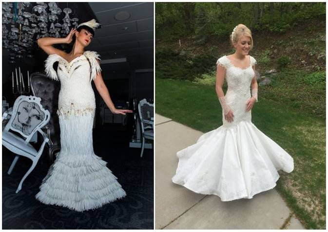 There\'s Nothing Crappy About These Toilet Paper Wedding Dresses ...