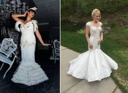 There's Nothing Crappy About These Toilet Paper Wedding Dresses