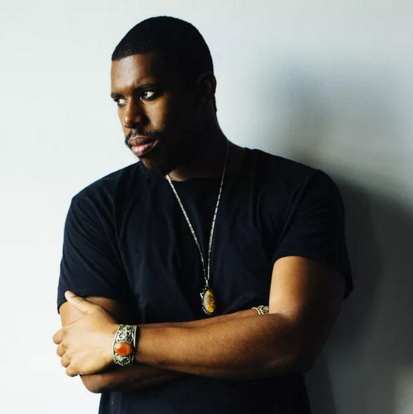 Hip-hop producer Flying Lotus, aka Flylo.