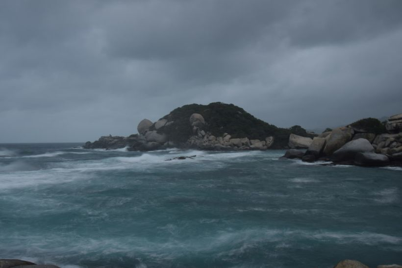 The view for Tayrona on my last night in the park.