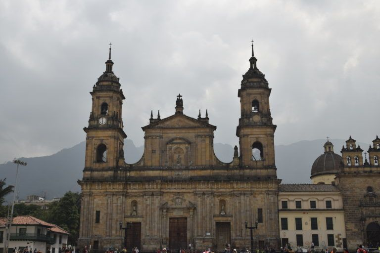 One of the churches in Bogota.