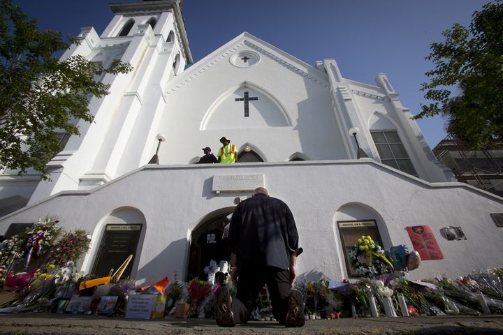 Many mourners have traveled to the historical black church in the past year, commonly known as Mother Emanuel, to pray and pa