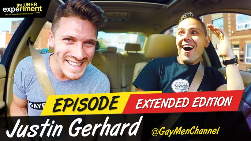 Are you GAY? Host of Gay Men Channel rides The Uber Experiment Reality Show and talks Gay Culture, Bed Manners & Entrepreneurship