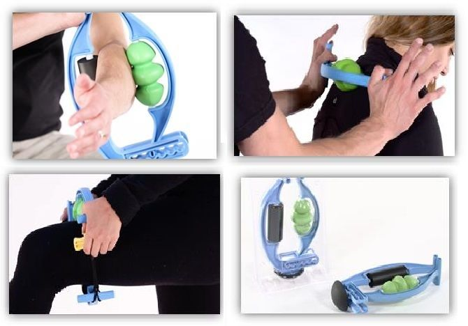Rolflex helps reduce latent muscle tension and attack pain.
