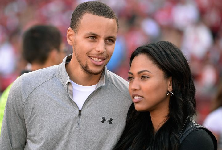 Golden State Warroirs guard Steph Curry and his wife Ayesha had a rough time during Game 6 of the NBA finals.