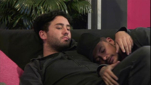 Hughie and Ryan spend some alone time in the 'other'