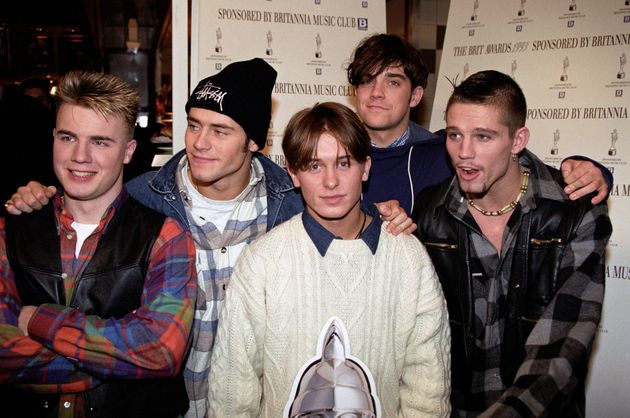 Gary Barlow says the boys were just five ordinary lads with a