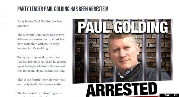 Britain First And Paul Golding: Who Are