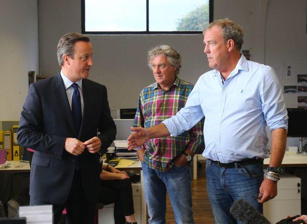 Don't worry, Richard Hammond has not been