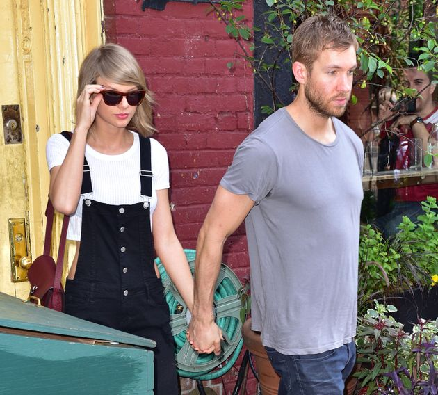 Taylor Swift and Calvin