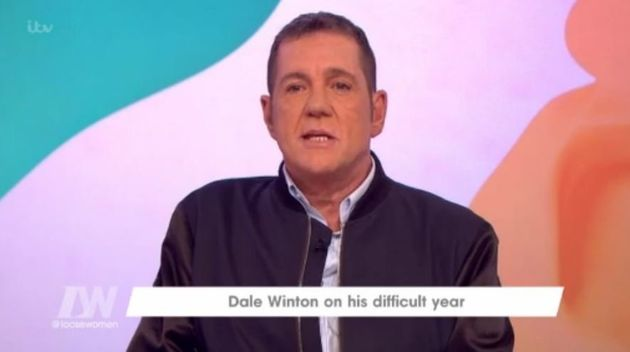 Dale Winton made an appearance on 'Loose