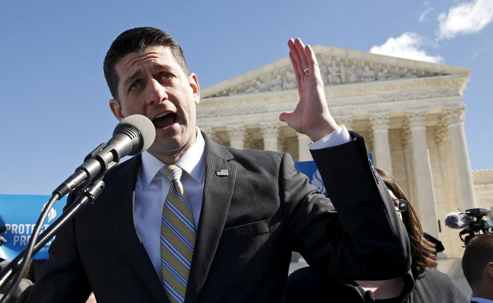 Paul Ryan feels strongly about health care reform.