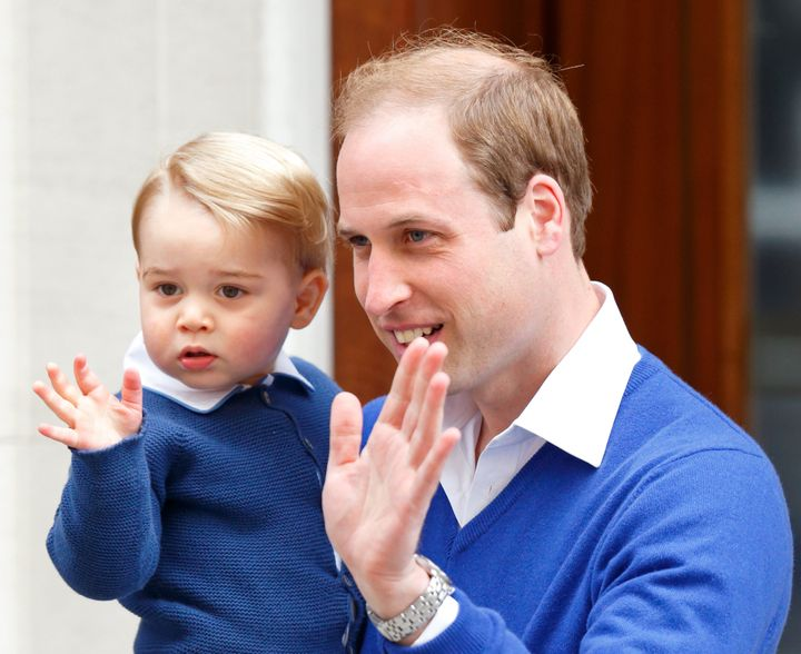 Prince William, Duke of Cambridge, has been a pretty involved dad. Here he is with his son, Prince George of Cambridge.