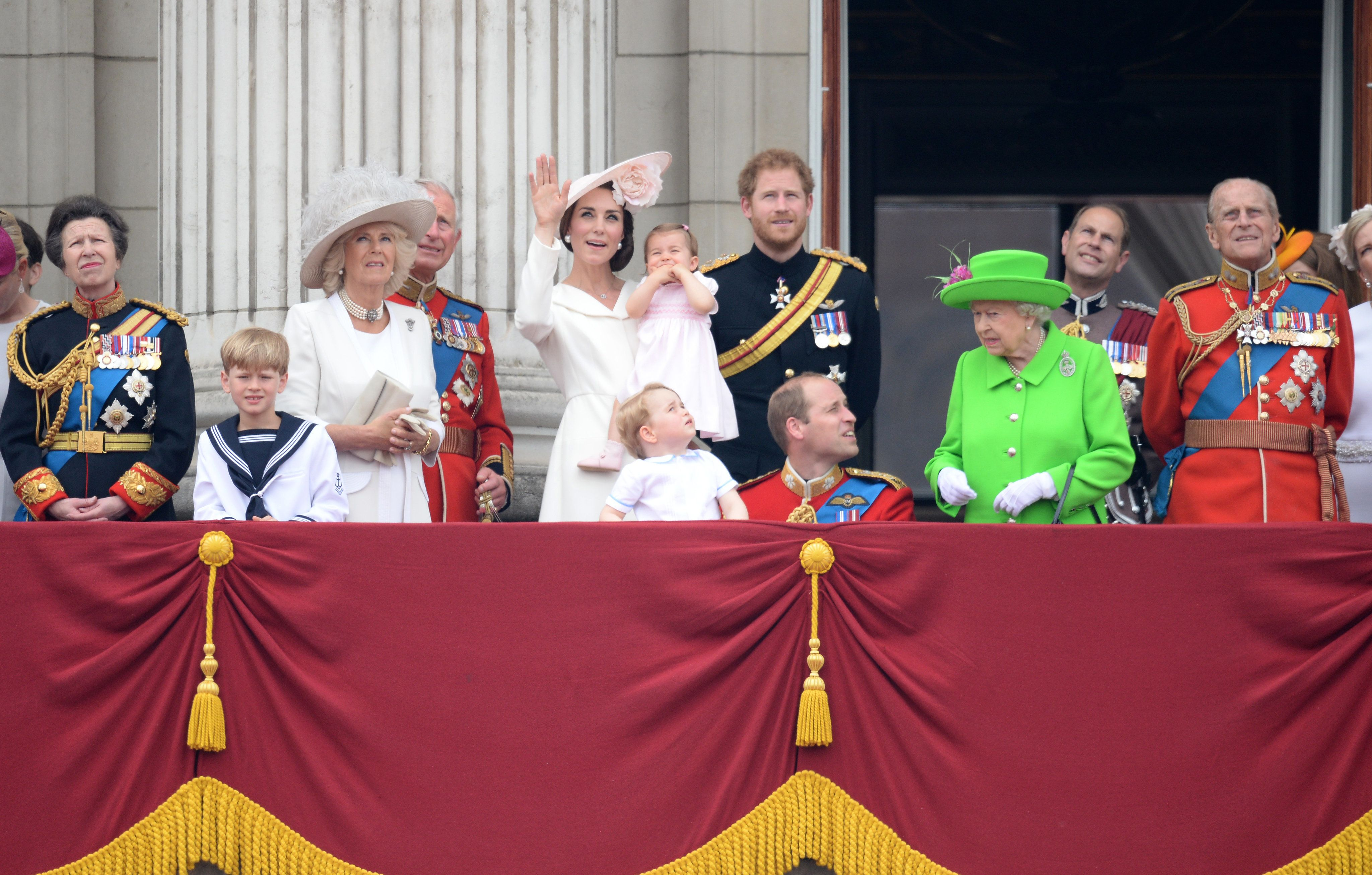 Queen Caught On Camera 'Telling Off Prince