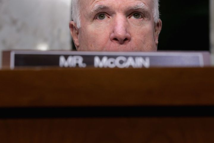 Sen. John McCain set off a furor when he blamed President Barack Obama for the Orlando shooting.
