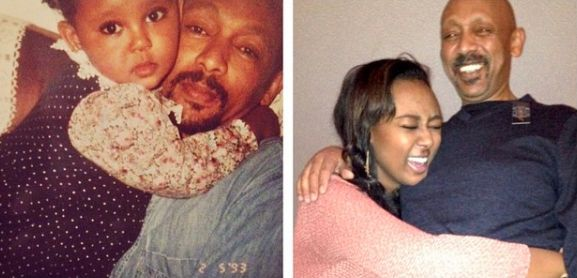 Me and my dad circa 1993 and 2014, respectively.