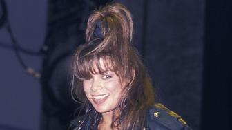 NEW YORK CITY - AUGUST 2:   Singer Paula Abdul performs attend the Z-100 WTZ Radio Station's Sixth Anniversary Celebration on August 2, 1989 at the Palladium in New York City. (Photo by Ron Galella, Ltd./WireImage)