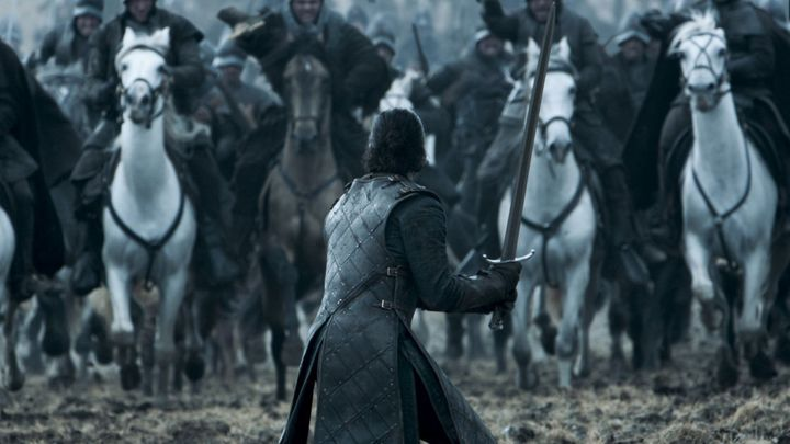 "A scene from the ""Game of Thrones"" episode ""Battle of the Bastards."""