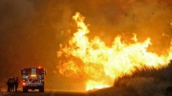 California Wildfire Triples In Size And Forces