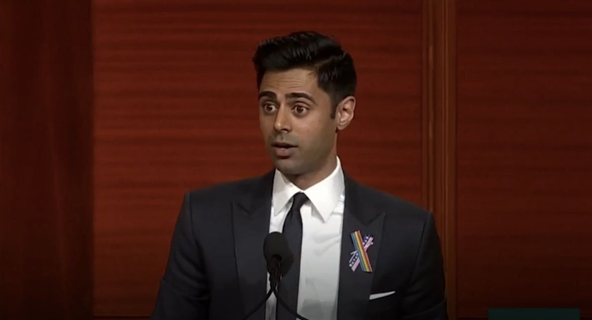 Hasan Minhaj blasted Congress for its inaction on the gun debate.