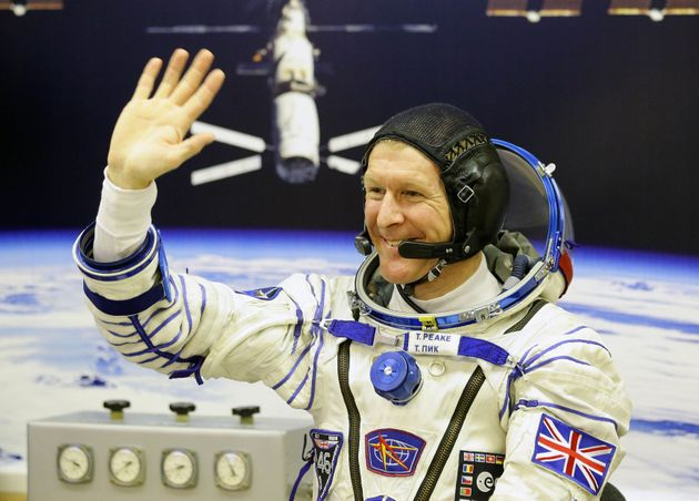 Tim Peake returns to Earth after six months at the International Space