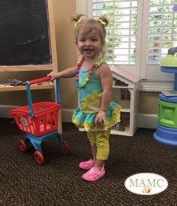<i>At her developmental pediatrician's office</i>