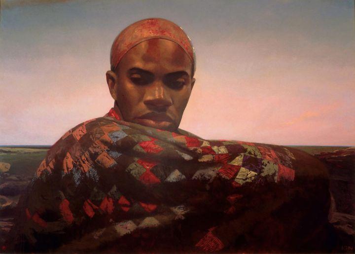 Bo Bartlett, <i>God</i>,&nbsp;1990, Oil on Linen, 120 x 168