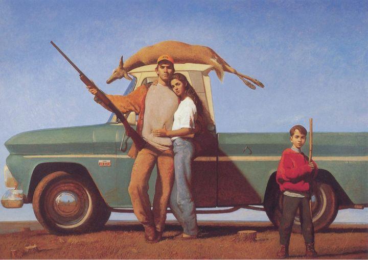 Bo Bartlett, <i>Young Life</i>,&nbsp;1994, Oil on Linen, 78 x 108